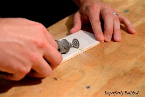 cutting tile backsplash subway tile backsplash and cheap alternative to renting
