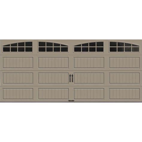 Clopay Garage Door Insulation Kit Clopay Gallery Collection 16 Ft X 7 Ft 18 4 R Value Intellicore Insulated Sandtone Garage Door