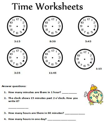 printable worksheets on time time worksheets grade 3 common worksheets for all
