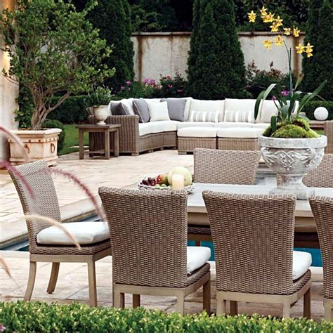 comfortable outdoor seating garden furniture and patio furniture ideas for comfortable