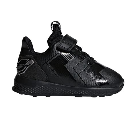 adidas black panther rapidarun toddler boys running shoes black silver sportitude