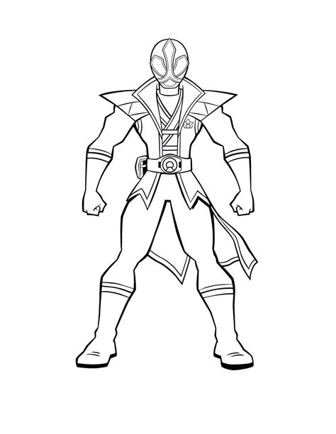 coloring pages of power rangers samurai free printable power rangers coloring pages for kids