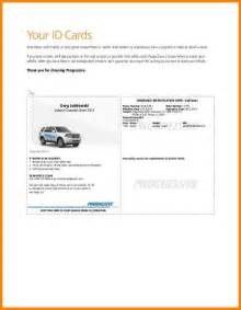 Car Insurance Cover Note Australia 4 Auto Insurance Card Template Free Inventory