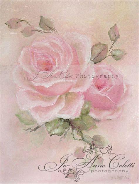 emma rose canvas print joanne coletti vintage rose