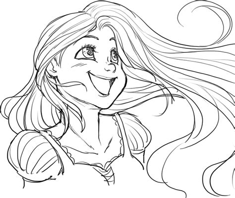 tangled doodle art in time lapse coloring videos and tangled rapunzel by beelibuzz on deviantart