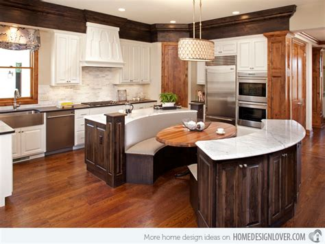 Eat In Kitchen Ideas 15 Traditional Style Eat In Kitchen Designs Decoration For House