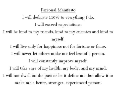 personal manifesto template i am my manifesto hhpathways