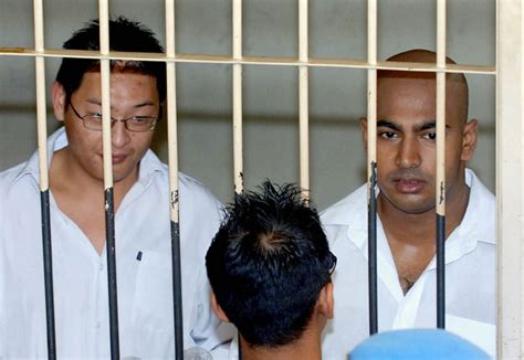 Immediate Resignation Letter Call Center Philippines Australian Traffickers Andrew Chan Left And Myuran Sukumaran Look On From A Holding Cell