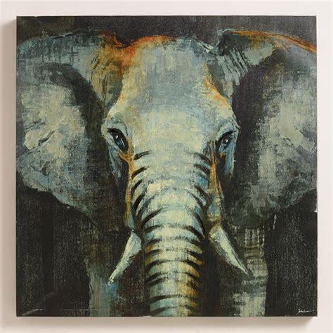 World Market Elephant L by Quot Safari Elephant Quot By Liz Jardine World Market