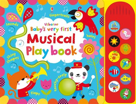 Usborne Baby S Touchy Feely Musical Play Book 1 baby s touchy feely musical play book at