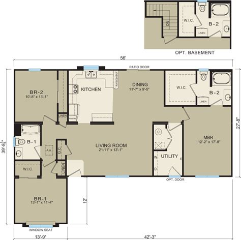 michigan modular homes floor plans and prices clayton michigan modular homes 3638 prices floor plans