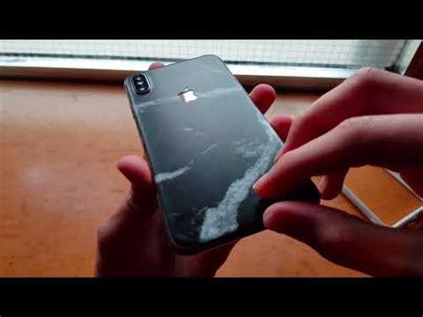 removing dbrand skin iphone xs max