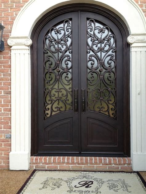 Tuscan Front Doors Tuscany Design Mediterranean Entry Other Metro By Tuscan Iron Entries