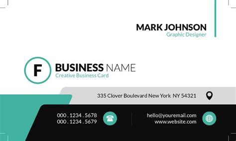 free html business card website templates 43 free business card templates free template downloads