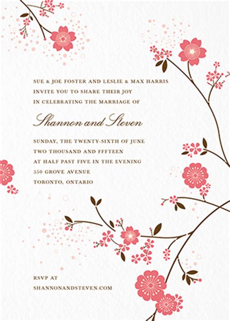 Wedding Invitations Mailed For You by Custom Wedding Invites Mailed For You Postable