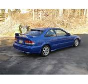 Picture Of 1999 Honda Civic Coupe Si Exterior