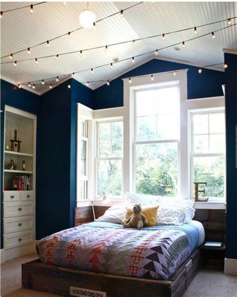 Shine My Lights In Your Bedroom Window String Lights Also Look In Any Bedroom Room Or Even Living Room Photo By Houzz