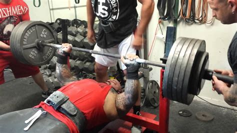 big bench press building a bigger bench with brandon lilly