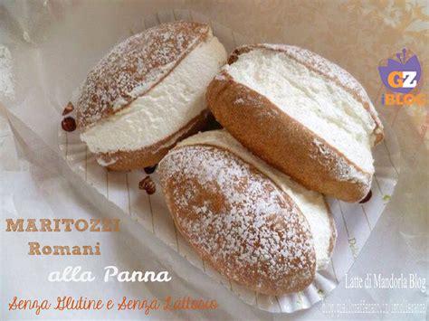 alimenti contenenti il lattosio maritozzi romani con la panna senza glutine e lattosio