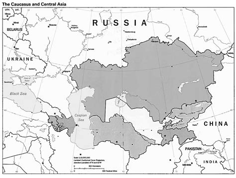 russia blank map quiz blank map of russia and central asia
