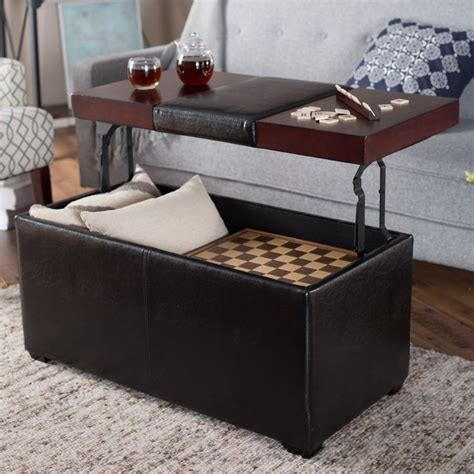 lift top storage ottoman best 25 storage ottoman coffee table ideas on