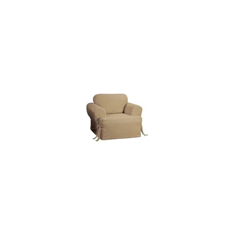 cotton duck sofa slipcover cotton duck tcushion chair slipcover sure fit ebay