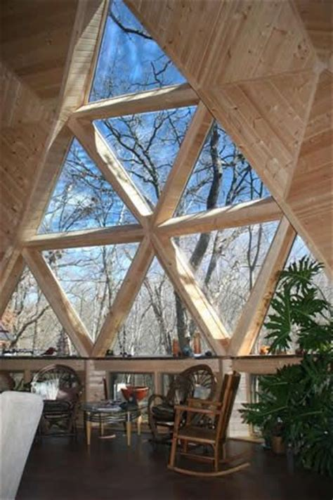 Geodesic Dome Home Interior Geodesic Dome Home Living A Spaces Geodesic Dome
