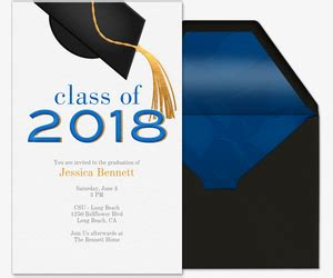 Vanderbilt Mba Invitation Date by Graduation Invitations Evite
