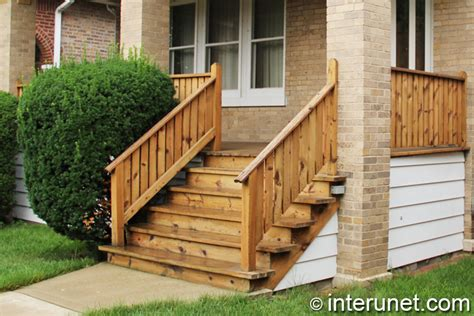 Wooden Front Stairs Design Ideas Wooden Front Steps Pilotproject Org