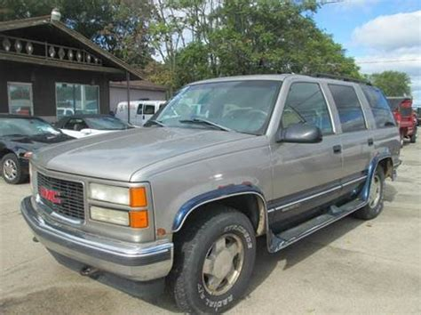 1998 gmc for sale 1998 gmc yukon for sale carsforsale