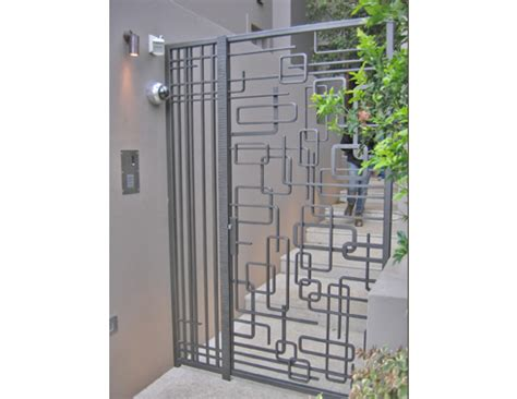 Modern Wrought Iron Gates And Fences Wrought Iron Abstract Gates For From Wrought Artworks