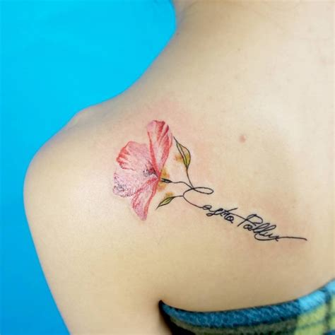 tattoo lettering with flowers tattoo lettering designs