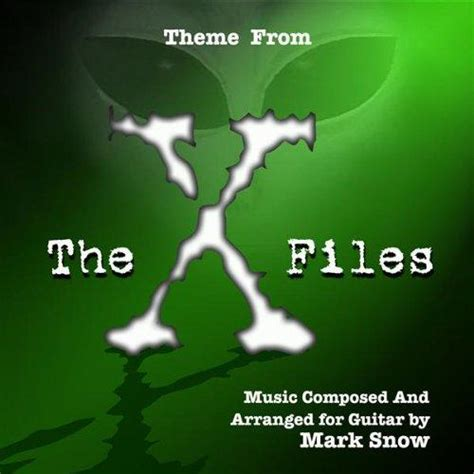 theme music x files theme from the x files guitar arrangement