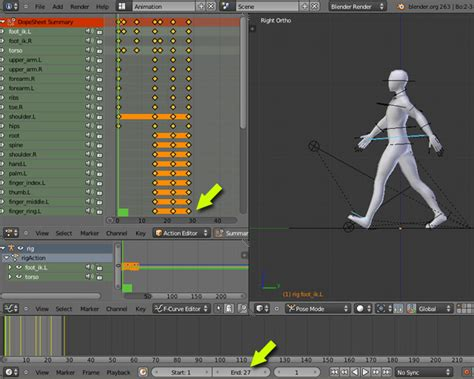 tutorial animation blender 3d create an animation walk cycle in blender using rigify