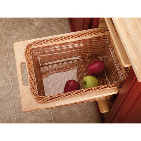 Shelf Pull Out Basket by Shop Rev A Shelf 14 25 In W X 21 25 In D X 7 38 In H 1