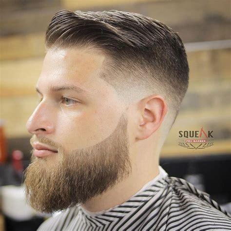 squeakprobarber cool short mens haircut