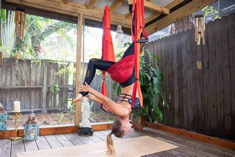 yoga trapeze tutorial yoga trapeze flow release rejuvenate your back the