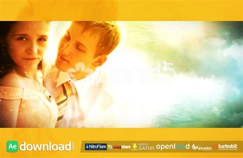 after effects free templates romantic romantic wedding trailer free download pond5 template