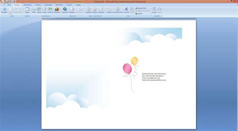 Vorlage Word Geburtstagskarte einladungskarten kindergeburtstag word vorlagen kostenlos