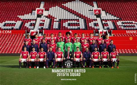 2016 manchester united squad 2016 manchester united football club hd wallpaper album