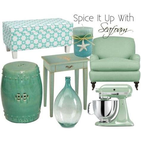 seafoam decor accents i green