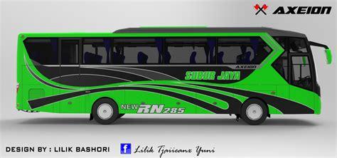 Gambar Desain Bus | design bus axeion
