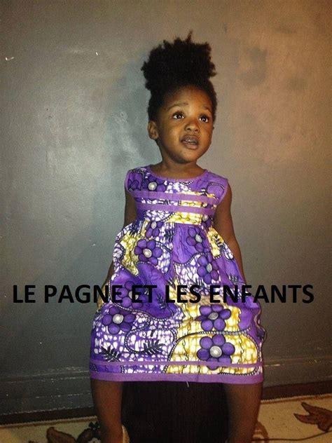 tenues africaines en tissu pagne robe pagne pr enfant tissu wax mod 232 les de tenues