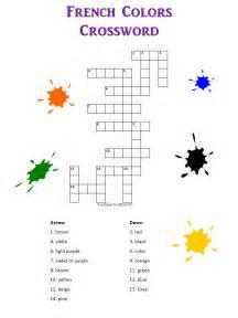 crossword colors