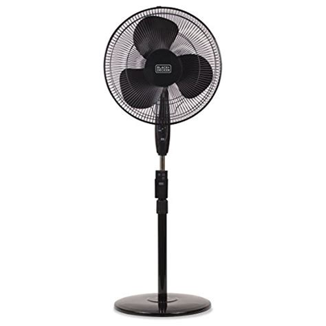 stand fan with remote black decker bfsr16b 16 in stand fan with remote