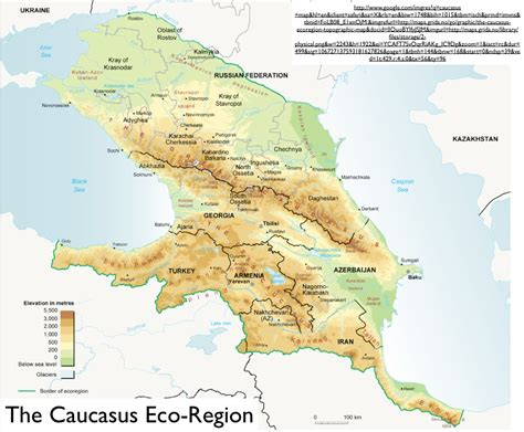 nau cus map the caucasus geocurrents