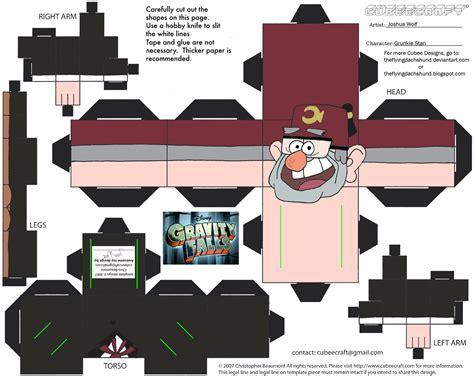 wanda s papercraft gravity falls