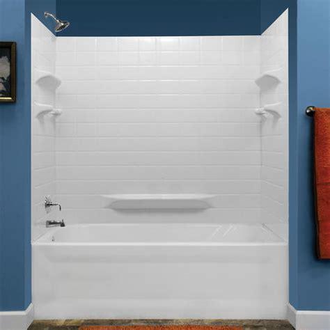 Lyons Bathtub by Lyons Palm Springs Tile Sectional Bathtub Wall Kit At Menards 174