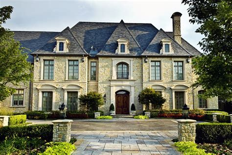 french chateau homes french roof lines contemporary luxury mansion french