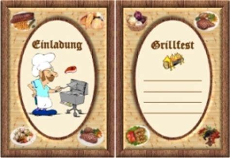grillfest einladung vorlagen kostenlos
